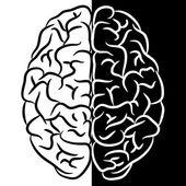 Forma de cérebro — Vetor de Stock