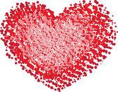 Tvar srdce — Stock vektor