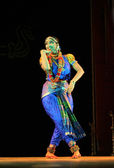 Vaishnavi Sainath performing Bharatanatyam dance — Stock Photo