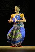 Vaishnavi Sainath performing Bharatanatyam dance — Stock Photo