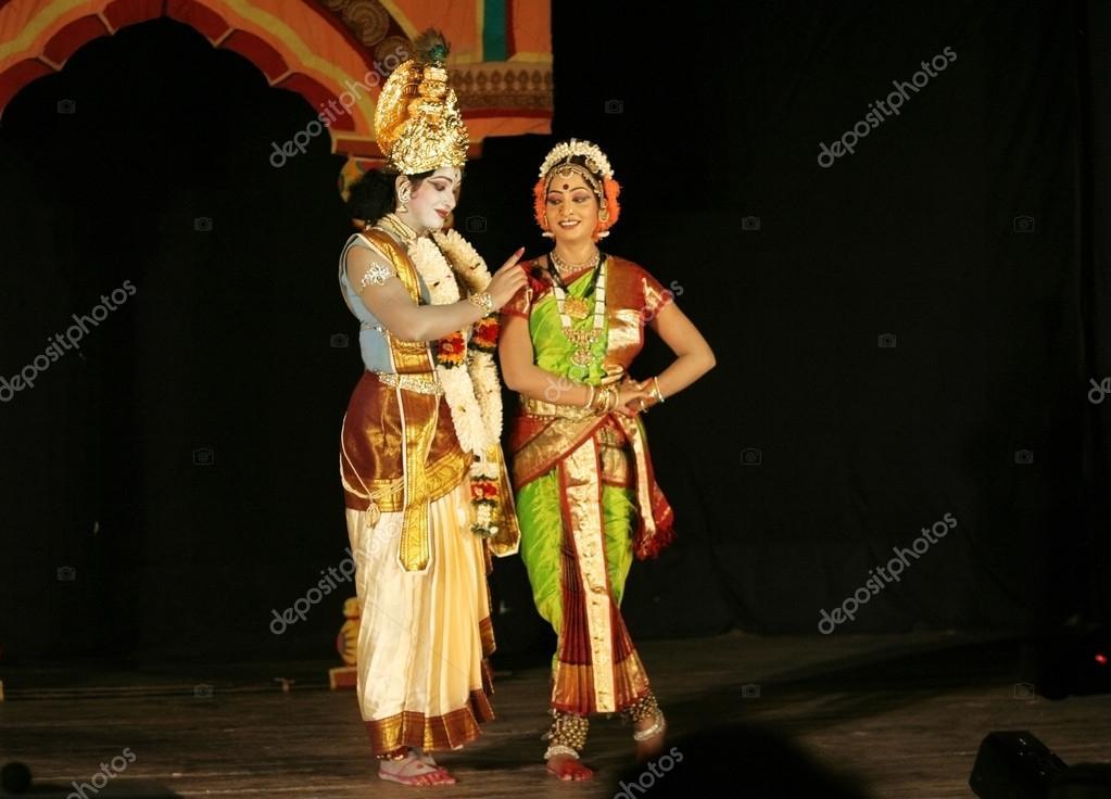 Kuchipudi Group Dance Naidu Performs Krishna Parijatham Kuchipudi Dance During Naatya Tarang
