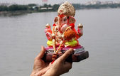 Lord Ganesha idol — Stock Photo