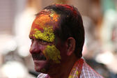 Indian hindu celebrate Holi festval — Foto de Stock