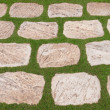 Background of natural flat stones — Stockfoto