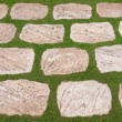 Stock Photo: Background of natural flat stones