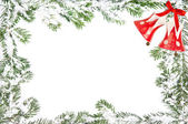 Christmas background with copy space — Stock Photo