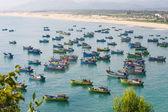 Rybářské lodě ve vietnamu — Stock fotografie