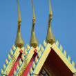 Rooftop buddhist temple — Stock Photo #2712618