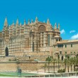 Stock Photo: Cathedral Palmde Majorca