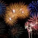 Firework display — Stock Photo #8083459