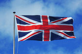 英国的国旗 — 图库照片