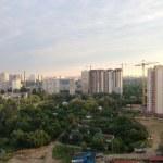 Poznyaky, industrial district, Kiev, Ukraine, 2013 — Stock Photo