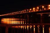 Bridge at night — Stock Photo