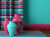 Living room design. — Stock Photo