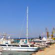 Yachts in the harbor — Stock Photo #11933182
