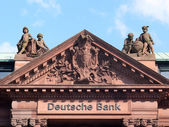 Deutsche Bank in Bremen, Germany — Stock Photo