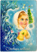 Snow Maiden (Snegurochka) — Stock Photo