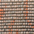 Variegated woven textile — Stock Photo