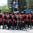Cossack parade — Stock Photo