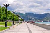 Promenade, Novorossiysk, Russia — Stock Photo