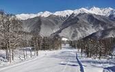 Ski resort Krasnaya Polyana — Stock Photo