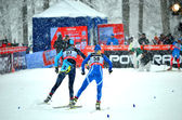 Coupe du monde de cross-country à sochi, russie — Photo