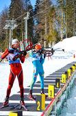 IBU Regional Cup in Sochi on February 9, 2013 — Stock Photo