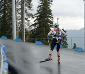 Championship of Russia in the summer biathlon in Sochi on September 21, 2013 — Stockfoto