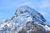 Sochi, Federacja Rosyjska. Zima w górach hihg — Zdjęcie stockowe