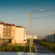 New microdistrict in Kazakhstan. Shymkent . Nursat — Stock Photo #12689019