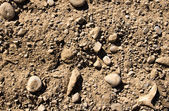 Background from stones with sand — Stockfoto