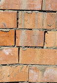 Background of brick wall texture — 图库照片