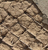 Mangy old wall — Stock Photo