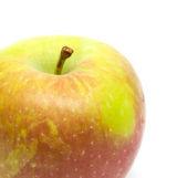 Apple on a white background — Foto de Stock