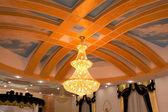 Beautiful chandelier — Stock Photo