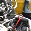 Stockvideo: Old diesel engine