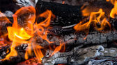 Abstract background burning coals. texture — Stock Photo
