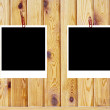Wooden background of the harvest with frame — Stock Photo #7485064
