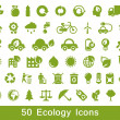 Stock Vector: Eco set 1