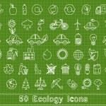 Постер, плакат: Ecology set