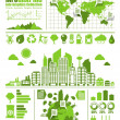 Stock Vector: Eco info graphics
