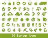 Eco zestaw 1 — Wektor stockowy