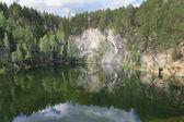 Lago di montagna 13 — Foto Stock