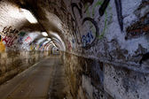 Abandoned tunnel — Stock Photo