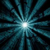 Streszczenie tło z ray i grunge tekstury — Zdjęcie stockowe