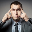 Stressed business man — Stock Photo #14415123