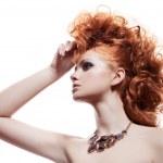 Fashion Portrait Of Luxury Woman With Jewelry — Stock Photo #35782645
