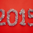 Stock Photo: New year 2015 design