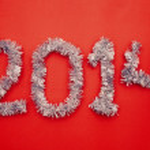 New year 2014 design — Stock Photo