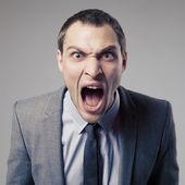 Hombre de negocios enojado — Foto de Stock